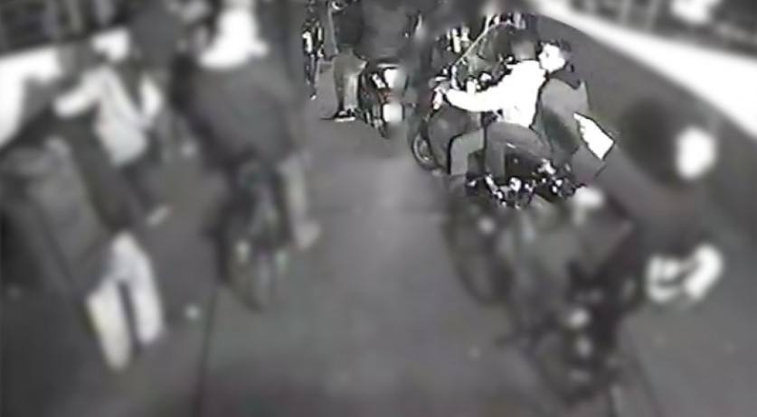 One of three young men wanted for an aggravated assault on a gay couple on Amsterdam's Ruijterkade, 16 Oct 2016