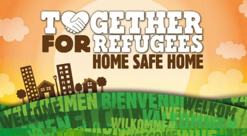 Home Safe Home campaign by VluchtelingenWerk and Ben & Jerry's