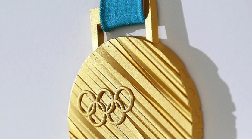 Winter Olympics 2018 Gold Medal