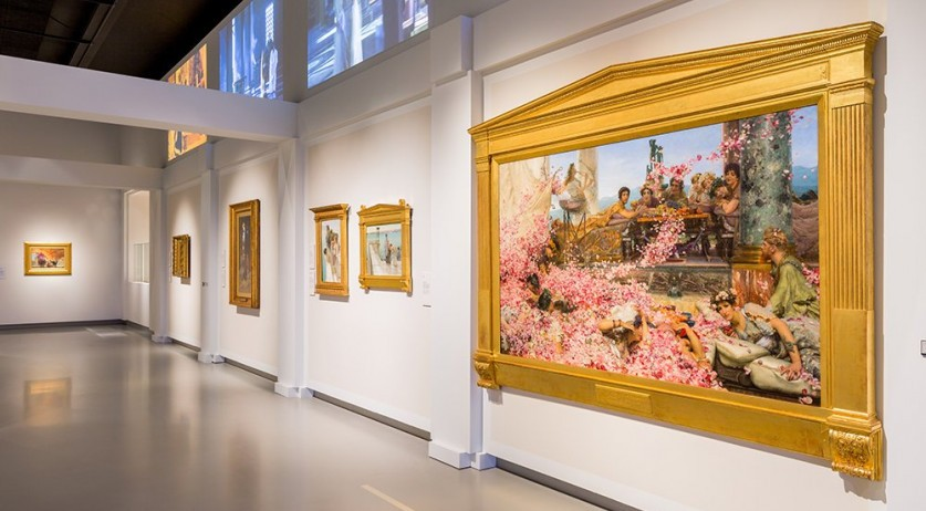 Alma-Tadema: classic seduction exhibition in the Fries Museum in Leeuwarden