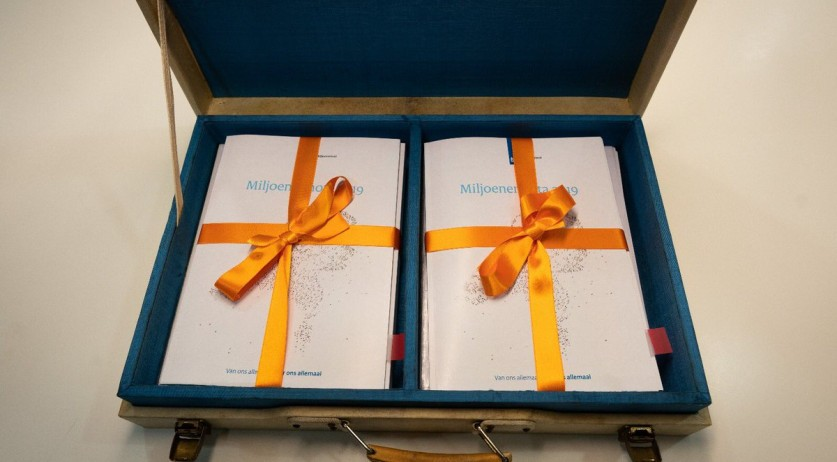 2019 budget ready to be presented to the Tweede Kamer, Prinsjesdag, 18 Sept 2018