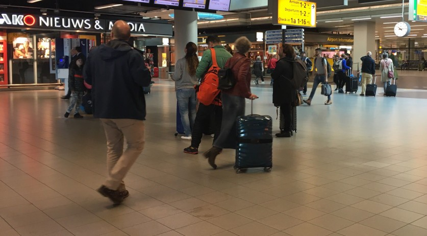 Schiphol airport, 29 Sept 2018