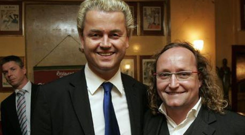 Geert Wilders and Dion Graus