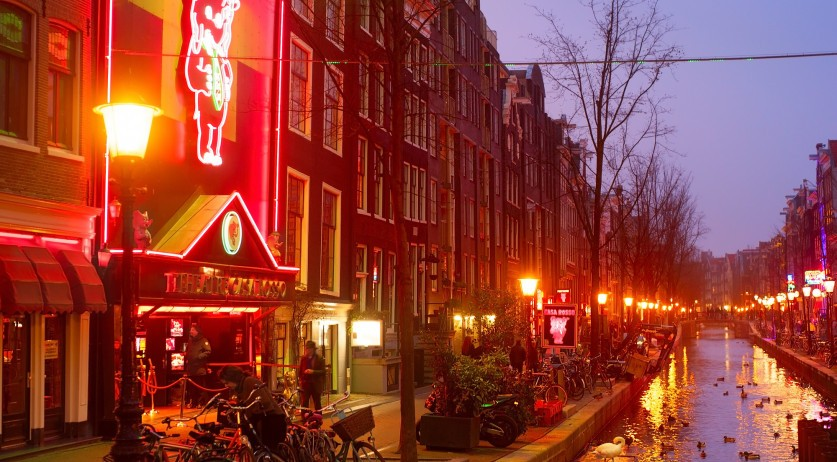 Light district in red Red Light