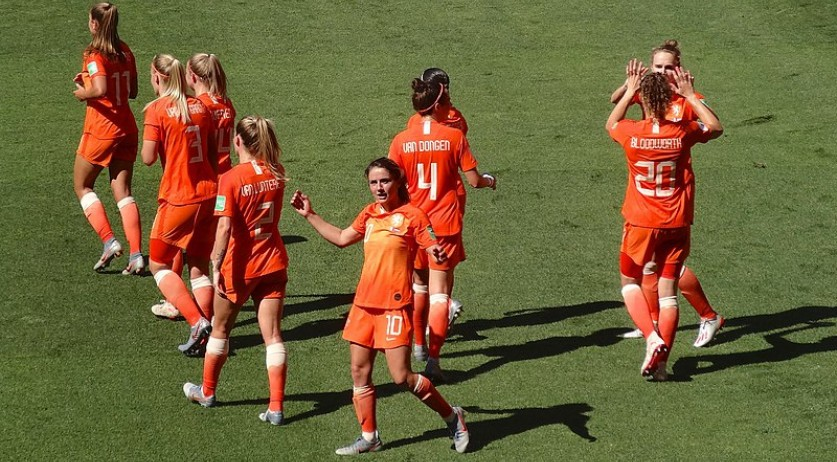 Oranje Women during the 2019 FIFA World Cup