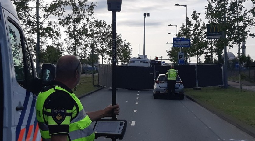 A motorcyclist died after crashing into a bus during a police chase on Laan op Zuid in Rotterdam, 21 July 2019