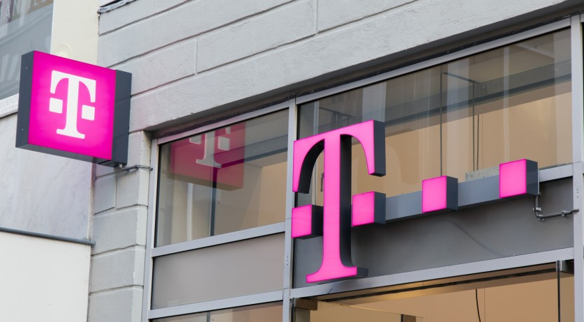 T-Mobile shop in Amsterdam