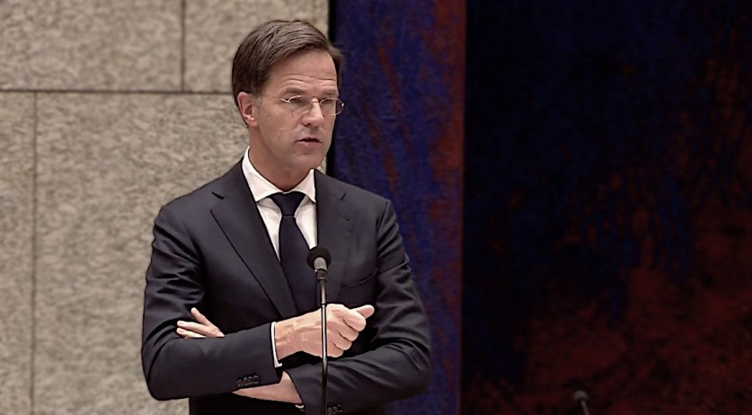 Prime Minister Mark Rutte in a parliamentary debate on the coronavirus policy, 14 October 2020