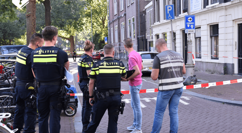 Shots were fired at law firm Kuijpers & Nillesen Advocaten on Falckstraat in Amsterdam, 7 August 2020