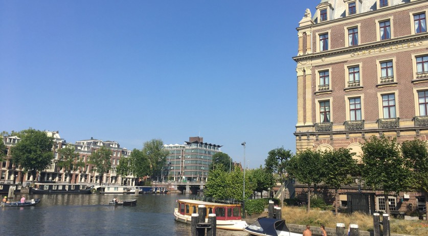 Hot day in Amsterdam, 12 August 2020