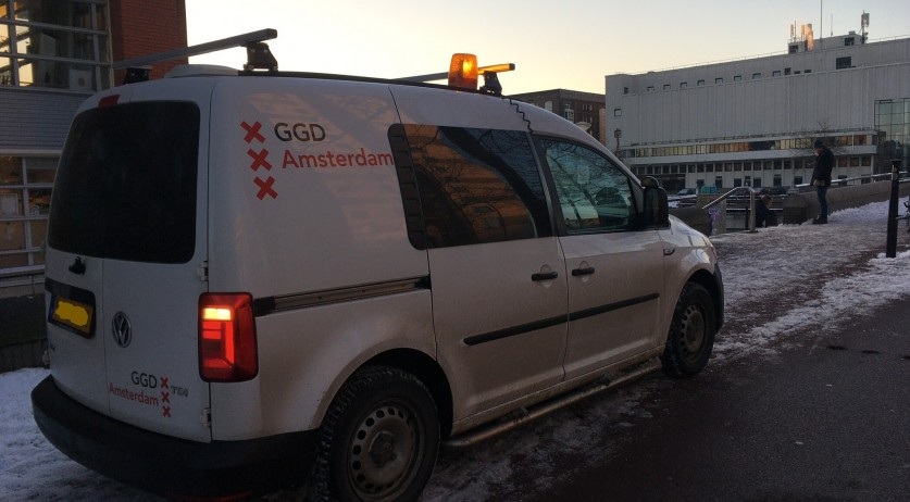 GGD Amsterdam vehicle
