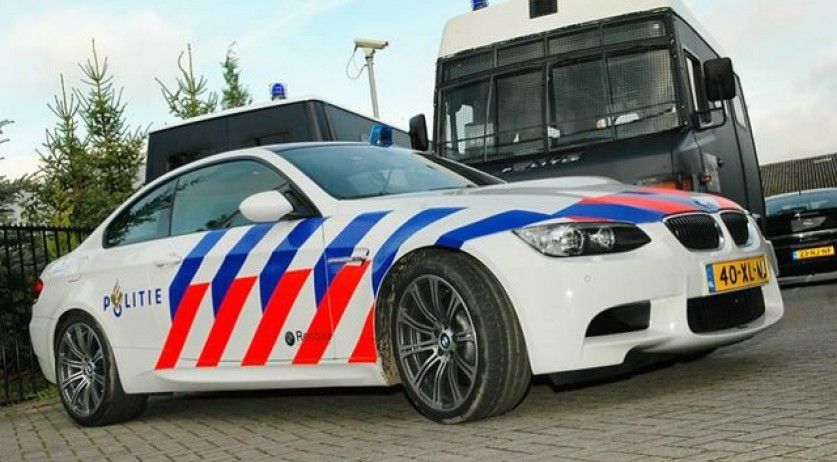 2008 BMW M3 E92 in Dutch police livery