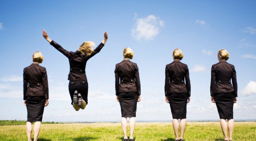 business-women-one-jump