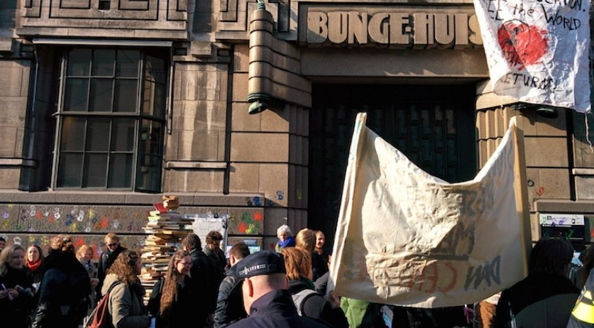 Bungehuis student occupation Feb 13, 2015