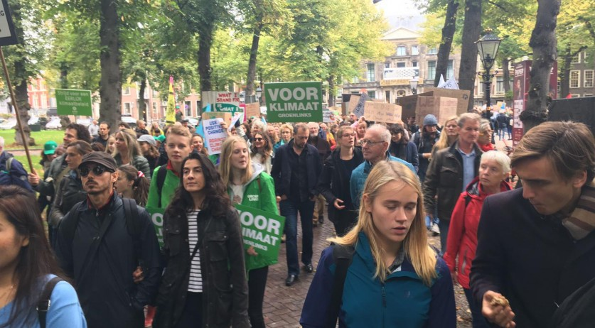 Climate strike in The Hague, 27 September 2019