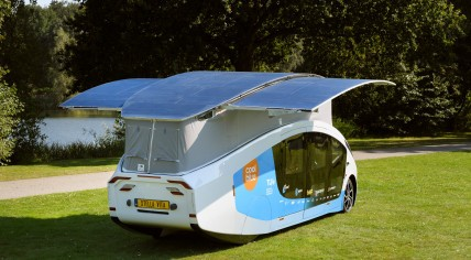 Eindhoven students built self-sustaining solar camper   NL Times