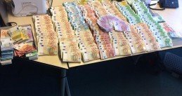 1.1 million euros seized in Amsterdam, Haarlem and Hoorn in a massive Noord-Holland money laundering investigation, 16 Nov 2016