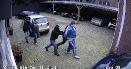 Rien de Koning and Gino Heeren kidnapped from a car dealership in Breda, 29 Dec 2015