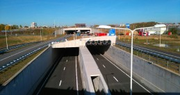 Koning Willem-Alexander tunnel underneath Maastricht