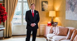 King Willem-Alexander giving the 2016 Christmas speech