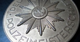 German police badge