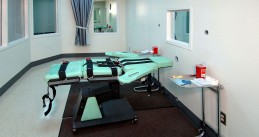 Lethal injection room at a prison in Calaforina