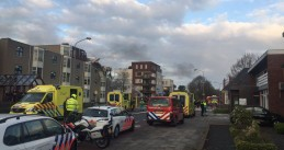 Explosion wipes out the top floor of a retirement home in Veendam, 19 Apr 2017
