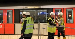 Journalists in Amsterdam for Noord-Zuid subway test