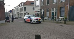 Police close down several streets of the Klarendal neighborhood in Arnhem over reports of an armed man, 3 May 2017