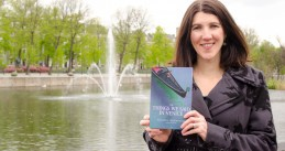 Author Kristin Anderson with her second novel
