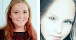 Savannah Dekker (left) and Romy Nieuwburg (right) - two 14-year-old girls found dead within 15 kilometers of each other during the first weekend in June 2017