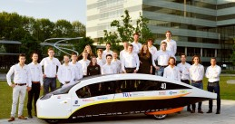 Stella Vie - a solar powered family car designed and built by students at TU Eindhoven