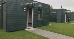 Skaeve Huse - a container home compound opened in Rotterdam for problem neighbors, 28 Jun 2017