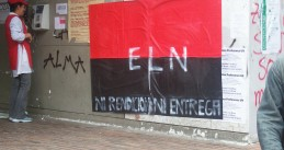 Poster of Colombian guerrilla movement ELN