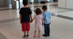 Hassan, Alma and Nazih found in Hungary on May 30th after their dad kidnapped them in Enschede on May 19th