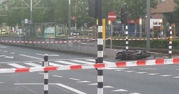 IJburglaan closed as Amsterdam police clear away explosives set to be used in an ATM bombing, 5 Jul 2017
