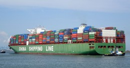 Container ship CSCL Jupiter