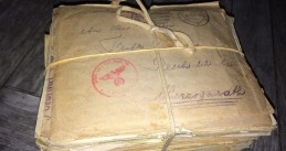 Bag filled with letters from WWII found at Utrecht Central Station, 4 Sept 2017