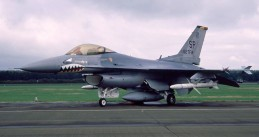 A F-16 at Volkel Air Base