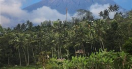 Mount Agung on eastern Bali