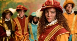 New Piet costumes for Amsterdam's Sinterklaas parade, Nov 2017