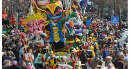 Carnival celebration in Schaijk, known during the festival event as Moesland. Oct. 27, 2013