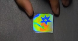 Color changing material developed by researchers at TU Eindhoven