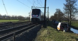 Hundreds of passengers spent over 5 hours stranded on this train between Woerden and Gouda, 14 Feb 2018