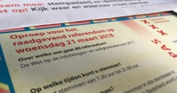 Ballot for the referendum on the Intelligence and Security Law, 21 March 2018