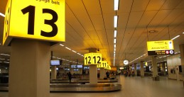 Baggage belts at Schiphol