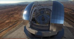 ESO's Extremely Large Telescope that is being built in Chile, April 2018