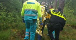 Wounded man found in forests near Strijbeek hours after accident, 10 May 2018
