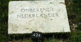 The grave of an unidentified Dutch WWII victim in Loenen
