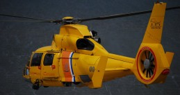 Dutch coast guard helicopter